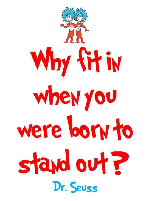 Love this Dr Seuss