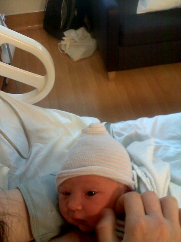 Presenting our new grand daughter Eleanor Constance McCool