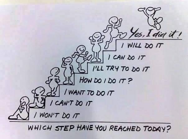 Baby Steps.
